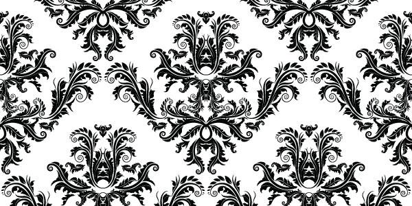interior aesthetics with wallpaper borders